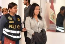 Keiko Fujimori pierde apelación en caso de lavado de dinero