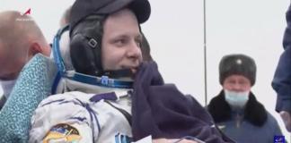 Rusia: Tras 6 meses en la (EEI) la Soyuz MS-16 regresa con tres astronautas