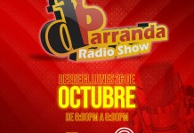 dParranda Radio Show inicia este lunes 26 de octubre por Dominicana FM
