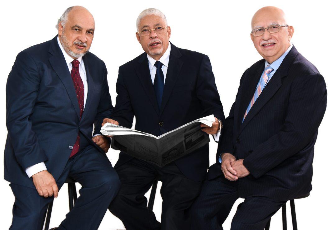 Ruddy Gonzalez, Junan TH y George Rodríguez