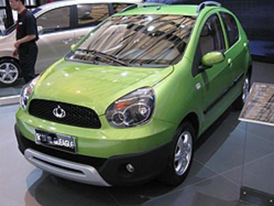 El Gleagle Panda, del fabricante chino Geely.
