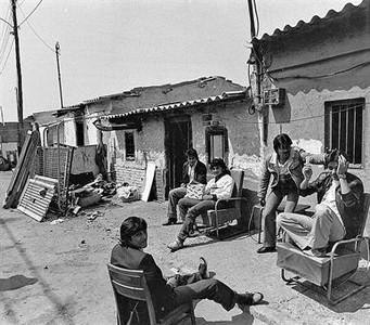 La Perona, en 1985.