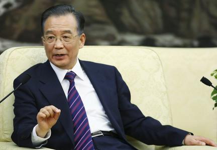 Wen Jiabao, durante una conferencia de prensa, el pasado 22 de marzo en Pekín.