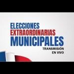 Resultados preliminares elecciones extraordinarias municipales 15 de marzo 2020