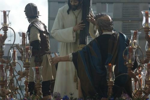 A PIE DE PASO: «Salida del Señor de la Salvación»