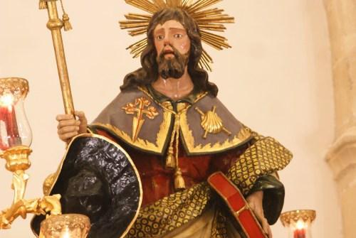 La vuelta del Apóstol Santiago a su Parroquia en imágenes