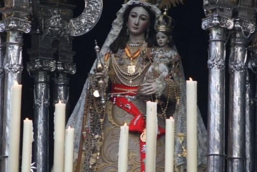 Suspendida la salida de la Virgen del Rosario de los Montañeses