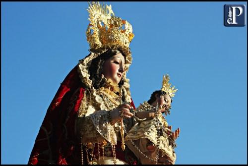 La festividad de la Virgen del Rosario en la provincia