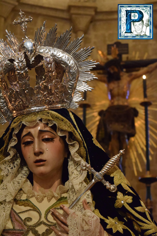 Besamanos a la Virgen de las Lágrimas, por Iván Ibáñez