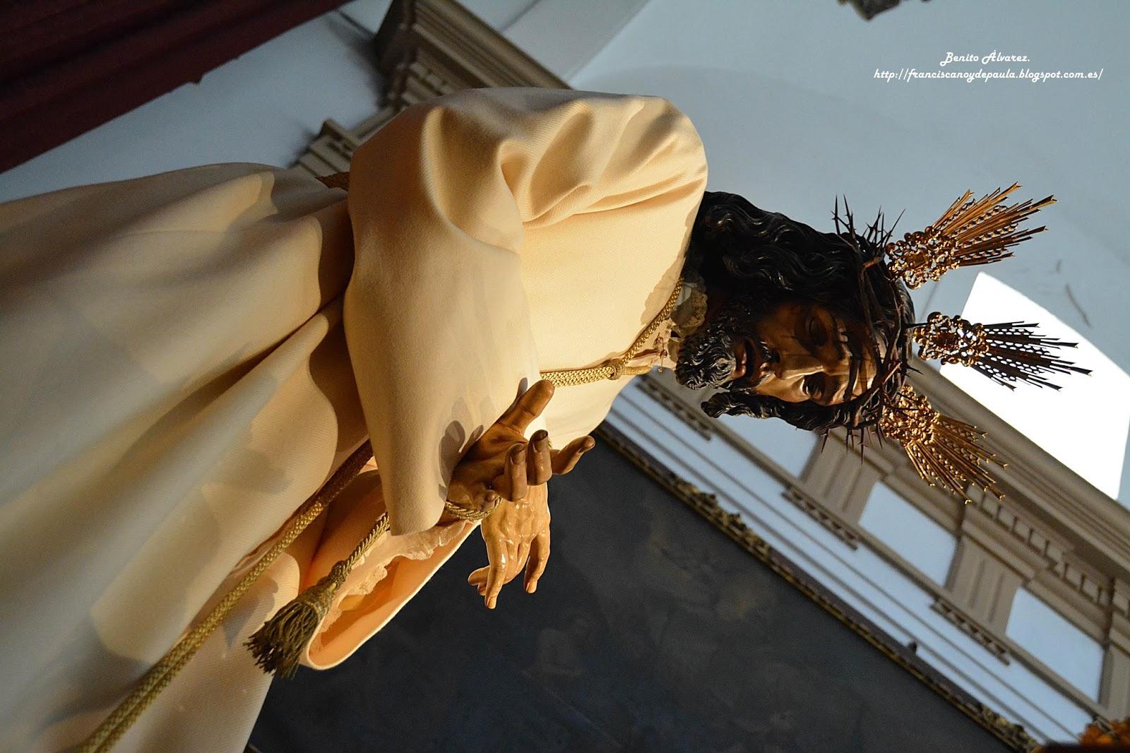 SEVILLA.- El besapiés al Señor de las Penas de San Roque en imágenes