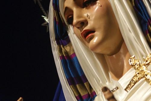 La Virgen del Silencio ataviada de hebrea. Por Lucas Álvarez