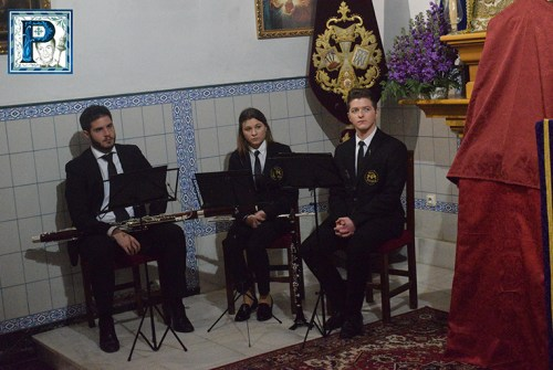 Asi suena «Jesús va Cautivo» la nueva obra de José Valdivieso dedicada a la Hermandad del Amor