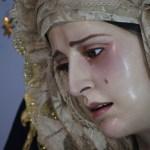 Rosario vespertino presidido por la Virgen del Amparo