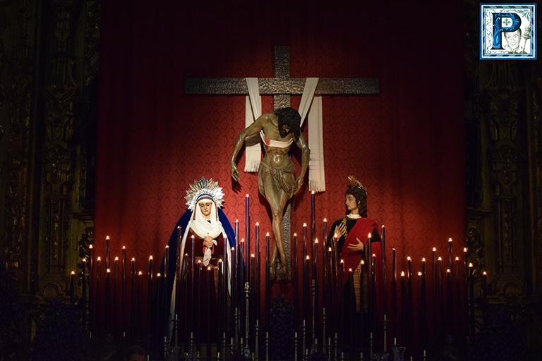 El altar de Cultos de la Hermandad de la Soledad en imágenes. Por Lucas Álvarez