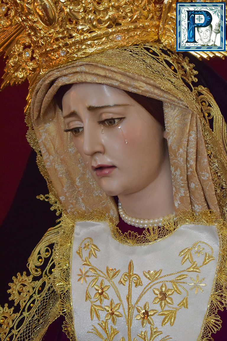 Angustias de María presidirá mañana un Rosario Vespertino por las calles de su barrio