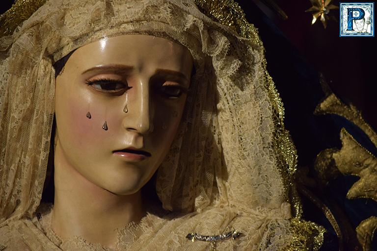 La Virgen de la Confortación será retirada del culto para su restauración en el mes de enero