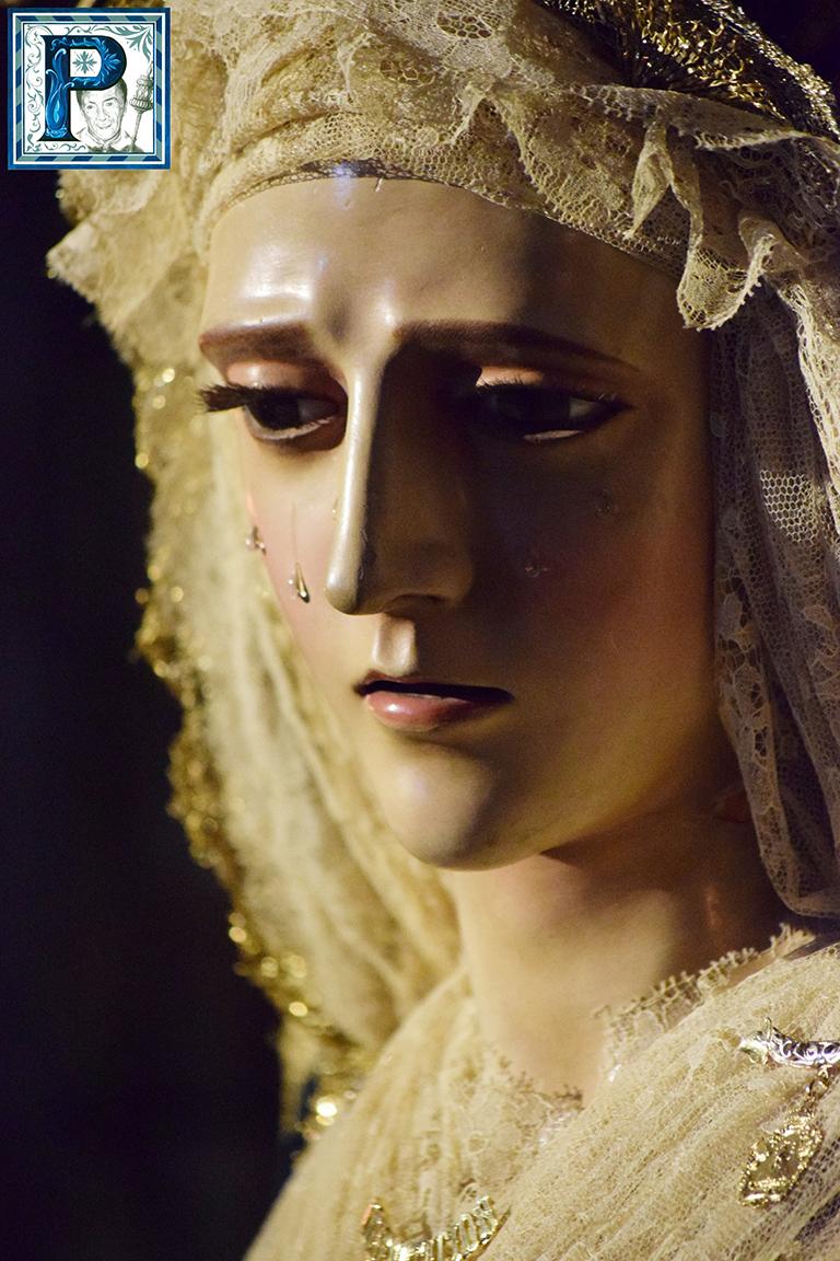 La Virgen de la Confortación preside hoy un Rosario Vespertino