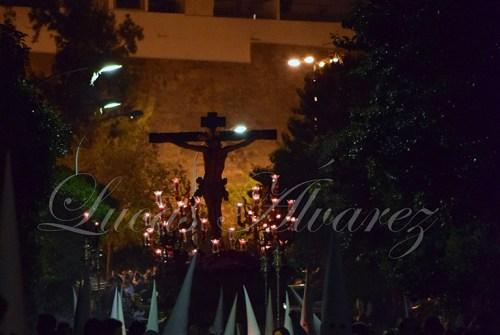 """A PIE DE PASO: """"El Cristo de la Sed regresando a su parroquia"""""""