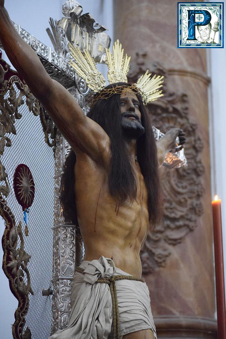 El Cristo vuelve a su Ermita tras tres años en San Francisco