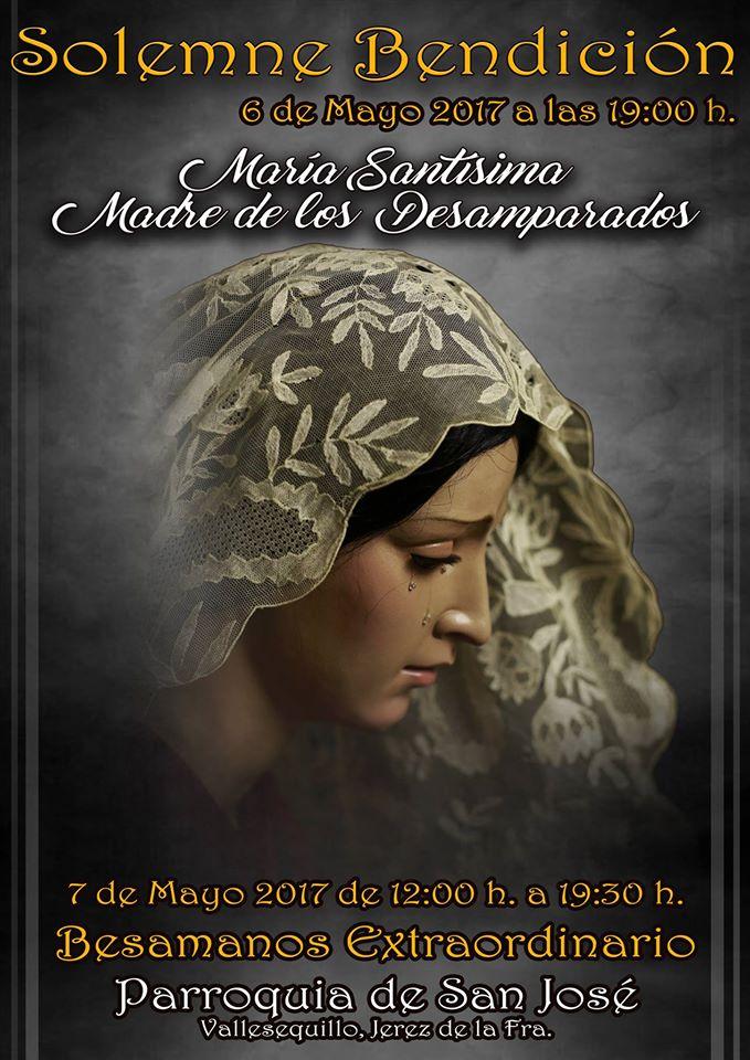 María Santísima Madre de los Desamparados, nueva advocación dolorosa para nuestra ciudad