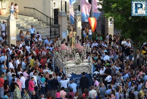 EN EL RECUERDO: «Salida procesional de Maria Auxiliadora (Lora Tamayo)»