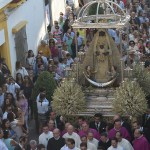 La procesión de la Virgen de la Merced en video
