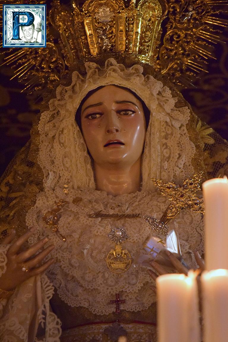 La Extraordinaria de la Virgen de la Amargura desde el objetivo de Lucas Álvarez
