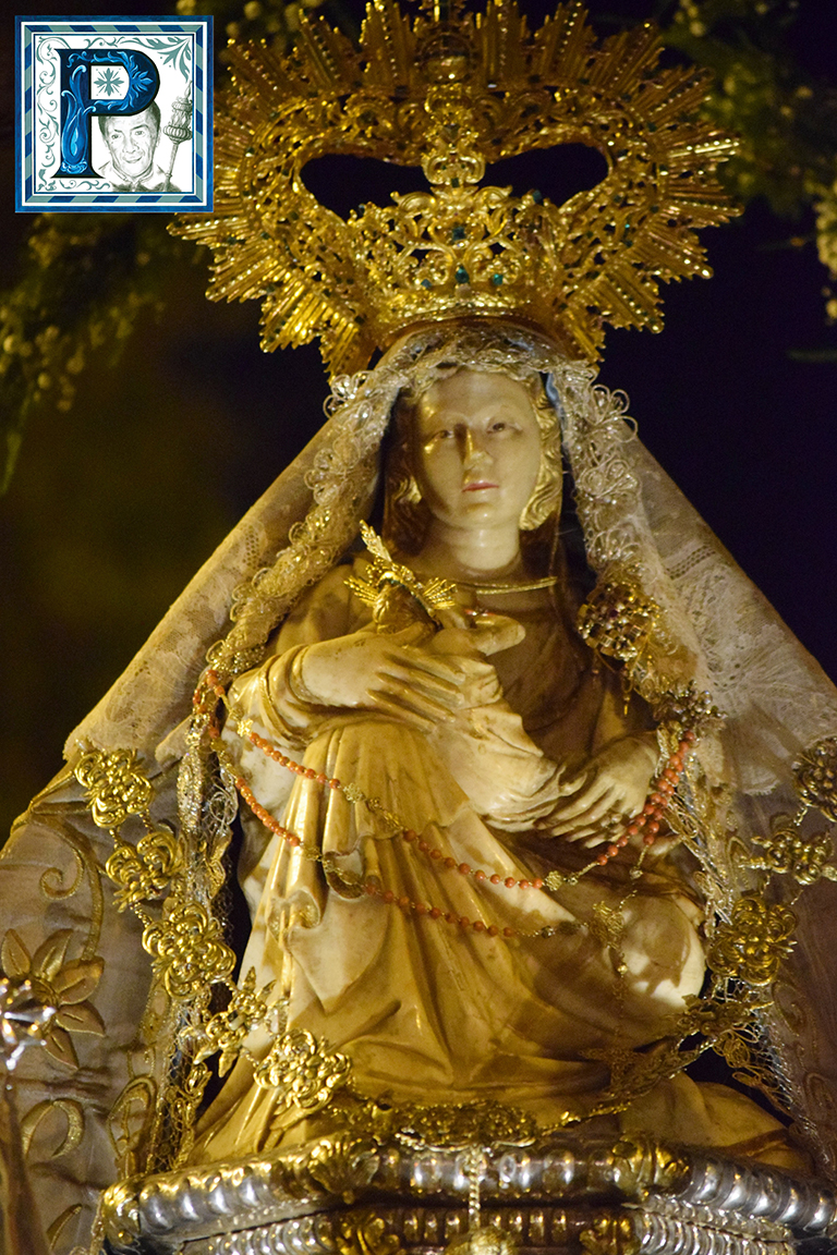 La Procesión de la Virgen de Consolación desde el objetivo de Lucas Álvarez