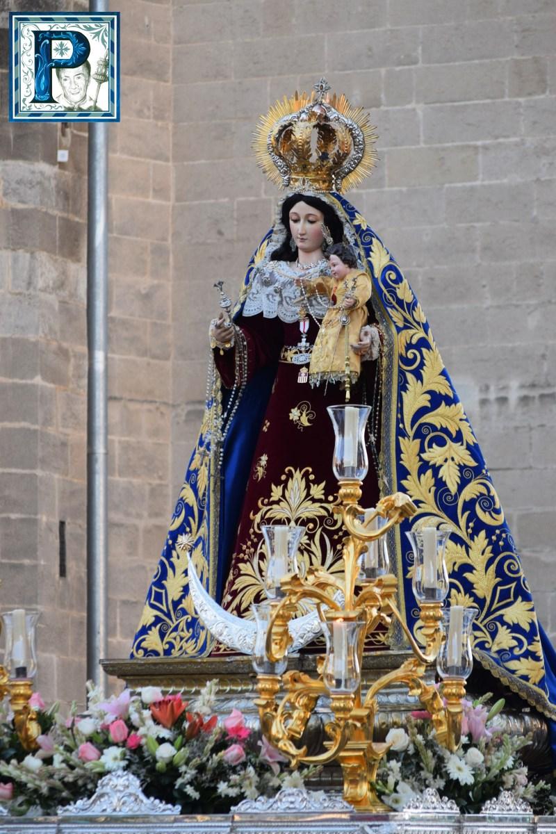 Madre de Dios del Rosario cierra hoy las procesiones en torno a esta advocación