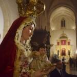 El traslado de Madre de Dios del Rosario a Santiago desde el objetivo de Lucas Álvarez