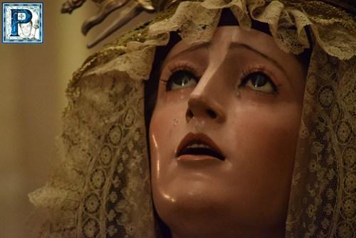 La Lanzada contará con un manto bordado para la Virgen de Gracia y Esperanza