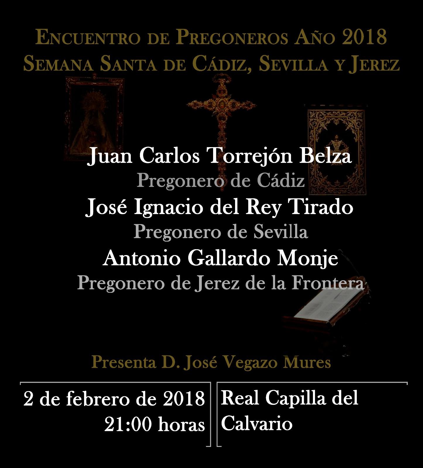 Encuentro de Pregoneros de la Semana Santa 2018
