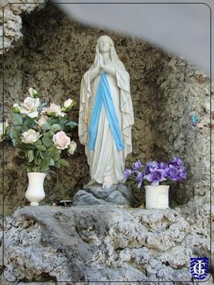Festividad de la Virgen de Lourdes en la Capilla del Calvario