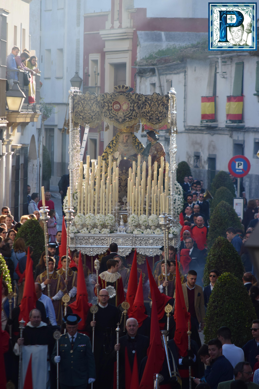 La Virgen del Desconsuelo visitará la Basílica de la Merced en Rosario de la Aurora