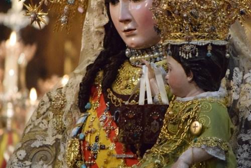Cultos en honor a la Virgen del Carmen con motivo del XCV aniversario de su Coronación Canónica
