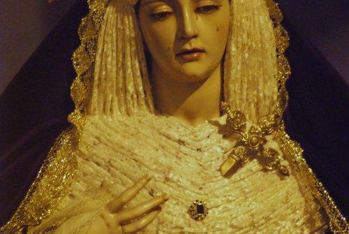 """EN VIDEO: """"Rosario vespertino de Angustia de María"""""""