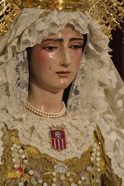 SEVILLA El besamanos a la Virgen de las Mercedes desde el objetivo de Benito Álvarez