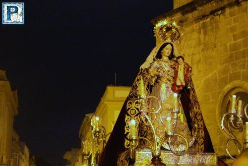 EN VIDEO: Salida Procesional de Madre de Dios del Rosario