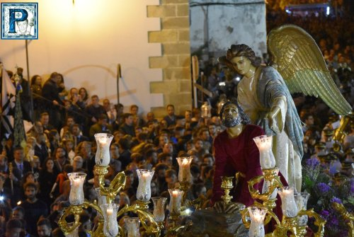 La procesión extraordinaria del Señor de la Oración en el Huerto desde el objetivo de Lucas Álvarez
