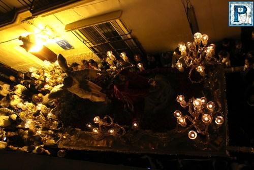 """A PIE DE PASO: """"El Señor de la Oración en el Huerto en la calle Sedería"""""""