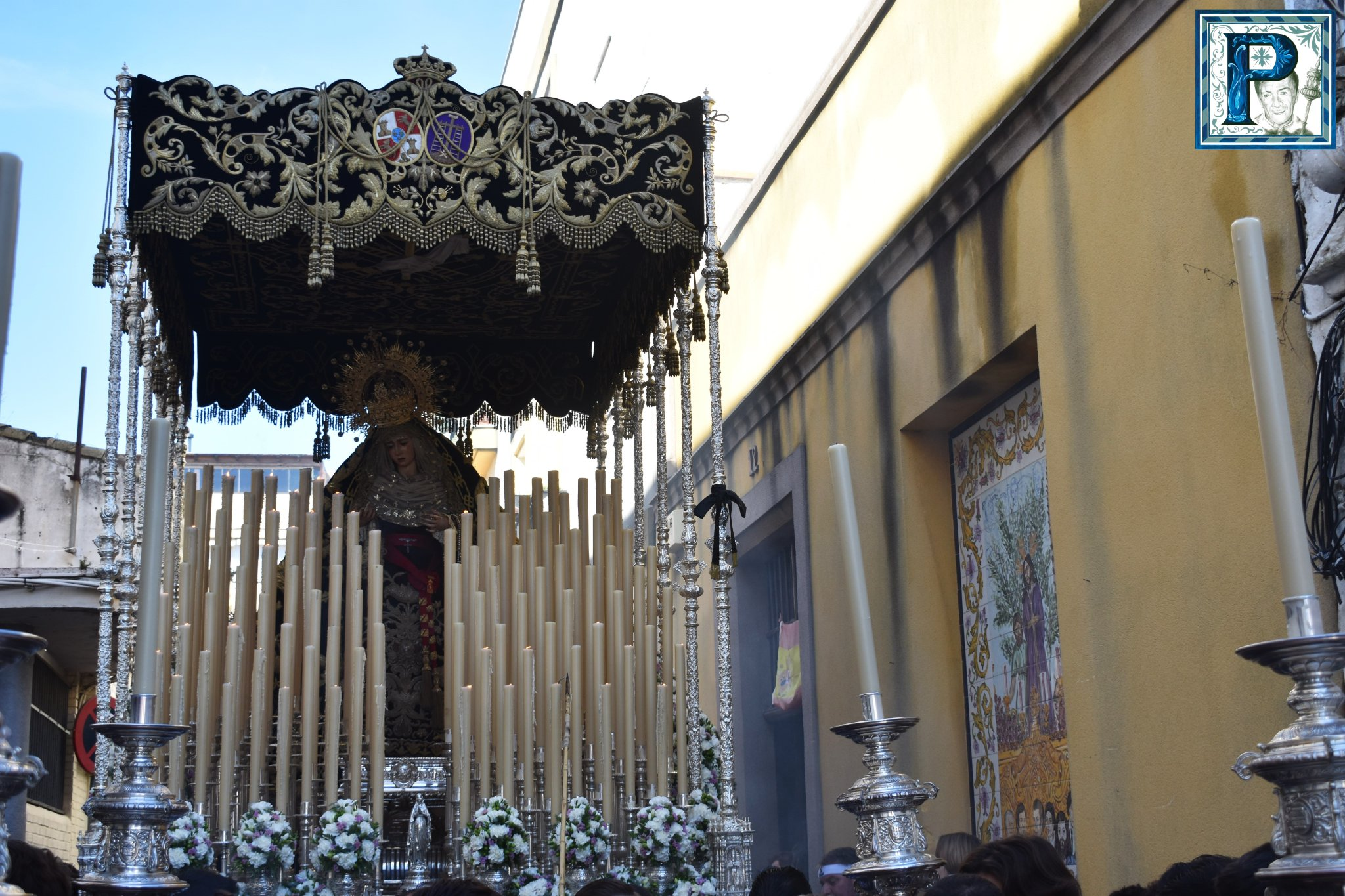 EN VIDEO: Traslado de la Virgen de la Piedad a la Merced