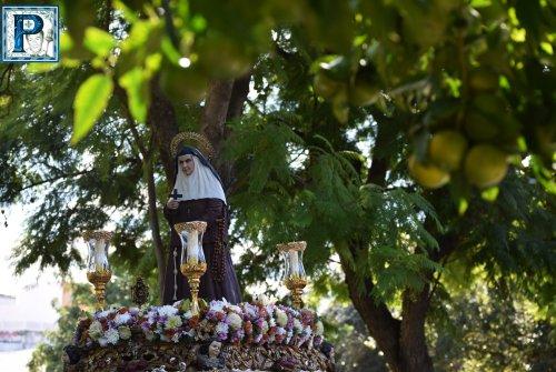 Santa Ángela de la Cruz procesiona este domingo