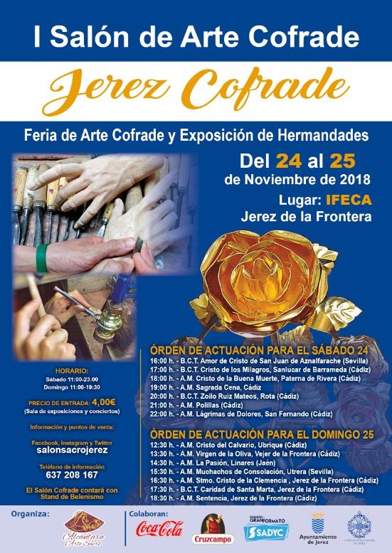 "IFECA acogerá el I Salón de Arte Cofrade ""Jerez Cofrade"""