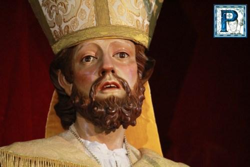 Este Domingo, procesión de San Blas por las calles de San Mateo