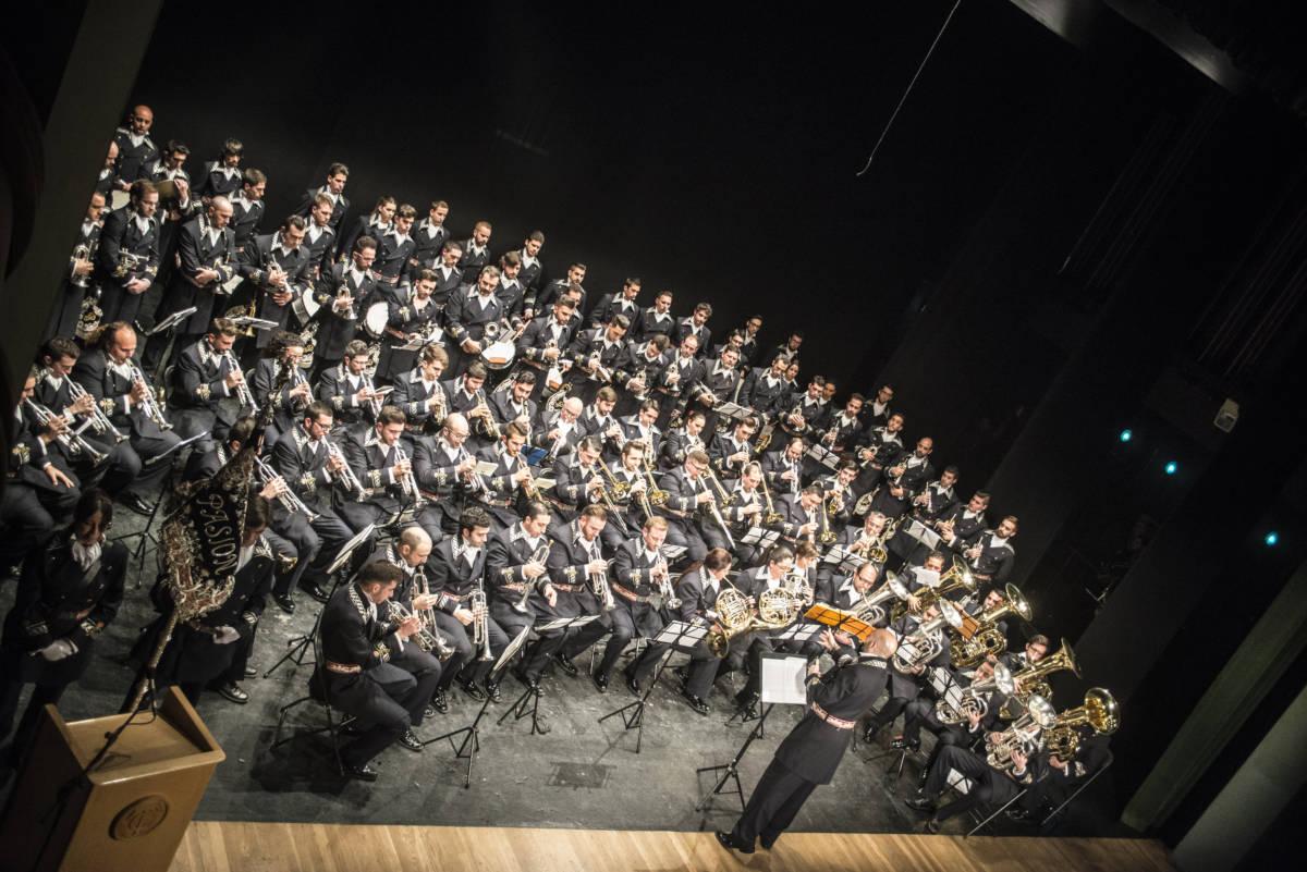 ?Concierto presentación de la Agrupación Musical «Nuestro Padre Jesús de la Pasión» (Linares) en la Hermandad de Santa Genoveva