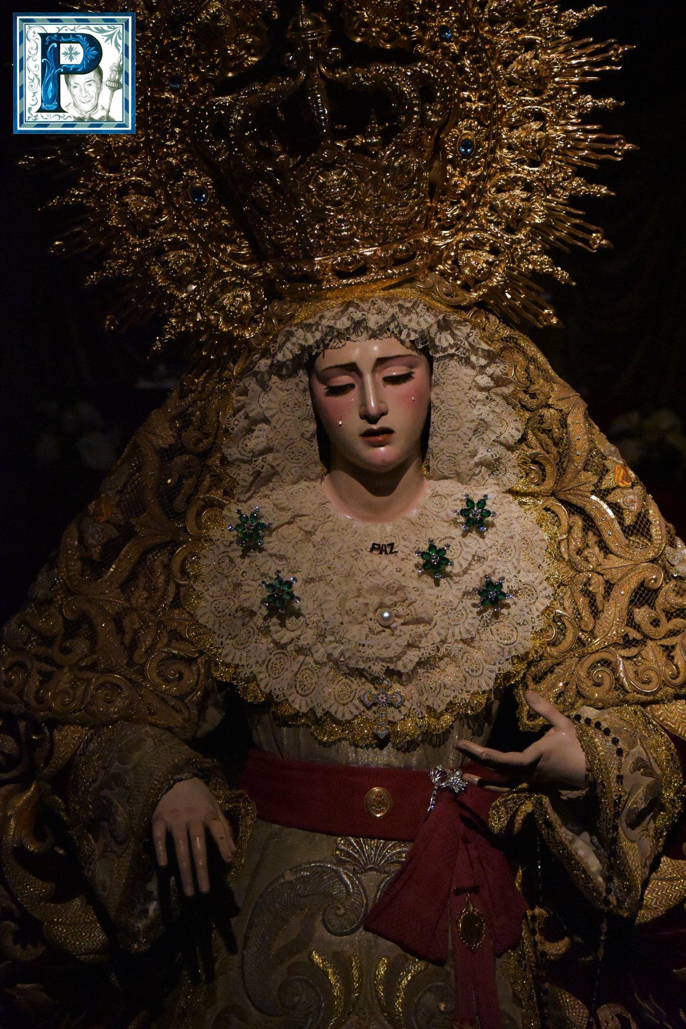 A PIE DE PASO: «La Virgen de la Paz y Aflicción revirando en Antona de Dios»
