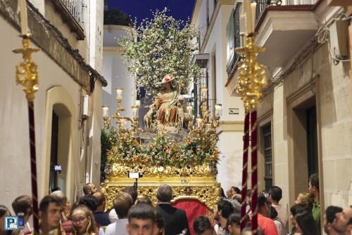 EN VIDEO: «Salida procesional de la Divina Pastora de Capuchinos»