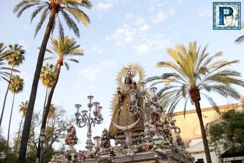 EN VIDEO: «Salida procesional de la Virgen del Rosario de los Montañeses»