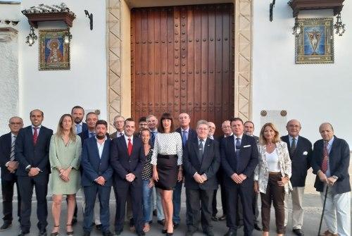María del Carmen Alonso se convierte en nueva Hermana Mayor del Cristo