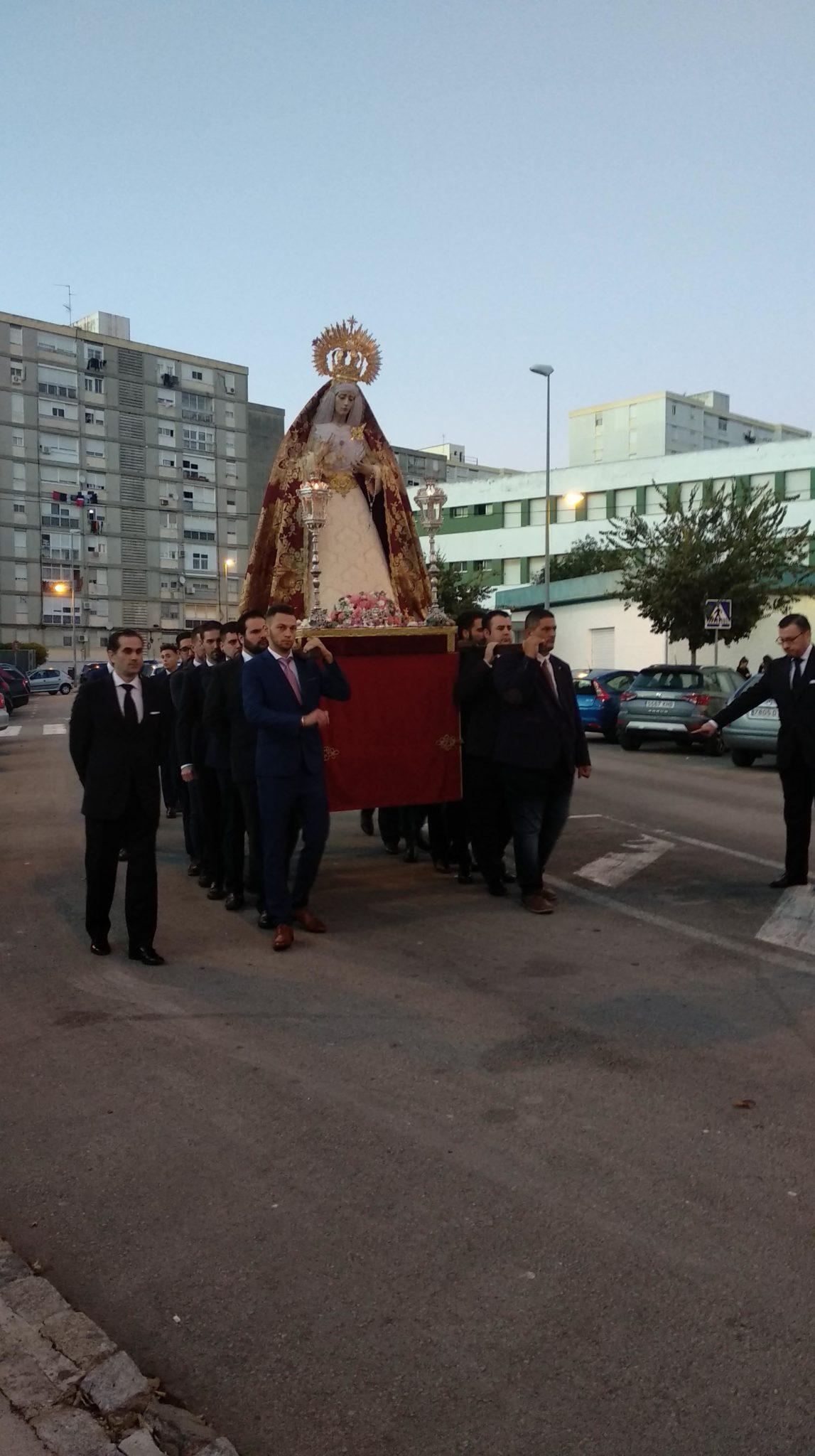 El Rosario Vespertino de la Virgen de las Bienaventuranzas en imágenes